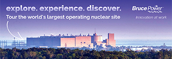 Bruce Power Visitor Centre banner
