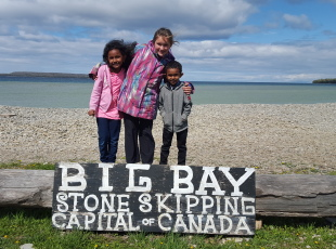 Big Bay - Stone Skipping Capital of Canada
