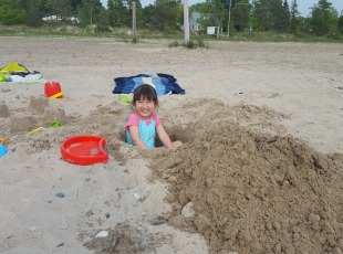 Fun in the sand