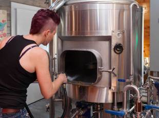 Watch brewing on site