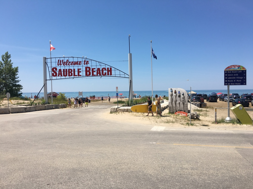 Sauble beach Ontario