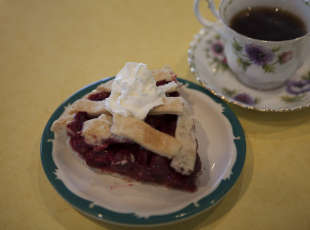 Cherry Pie with our Fair Trade Organic Coffee