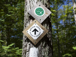 Canada's oldest and longest footpath.